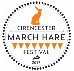 Cotswolds March Hare Festival 2017 logo