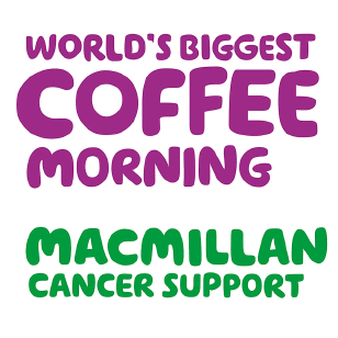 Macmillan Cancer Support's World's Biggest Coffee Morning logo