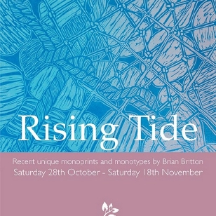 Rising Tide, An Exhibition by Brian Britton  ast Burford Art Gallery