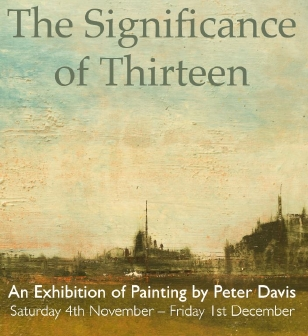 Exhibition  by Peter Davis at Burford Art Gallery