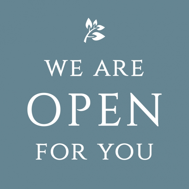 We Are Open For You