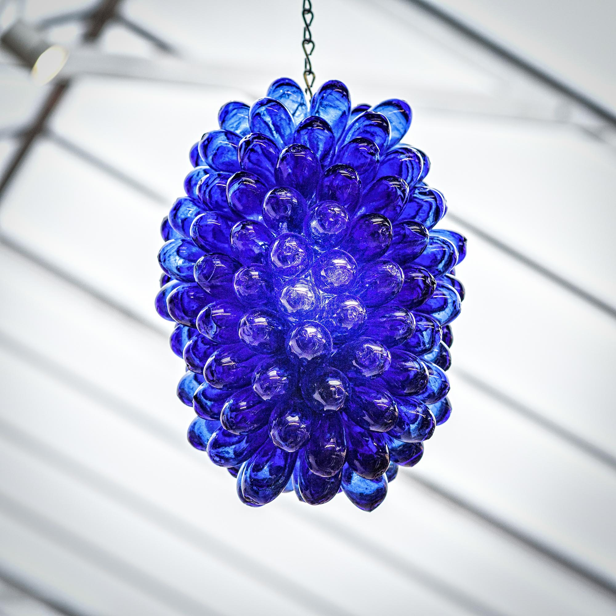 Glass grape cluster ceiling lights glass grape cluster ceiling lights in blue mozeypictures Image collections