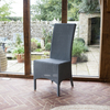 Classic Lloyd Loom Dining Chair Atlas Grey