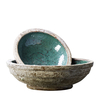 Elin Green Glazed Bowl 30cm and 55cm