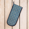 Cressida Bell for Burford Double Oven Gloves Blue Spot