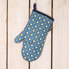 Cressida Bell for Burford Single Oven Gloves Blue Spot