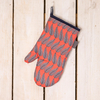 Cressida Bell for Burford Single Oven Gloves Red Leaf