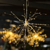 Outdoor LED Lights - Silver Starburst - Small