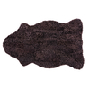 Gry Patchwork Shorthaired Sheepskin Rug - Moro Brown