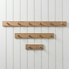 Shaker Peg Rails in Oak