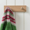 Shaker Peg Rail in Oak – 2 Peg