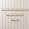 Shaker Peg Rails in White