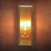 Ash Wall Light Medium Brass