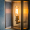 Birch Wall Light Brass Medium