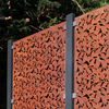 Panel Clamps with Branches in Corten Steel High