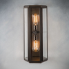 Oak Wall Light Bronze