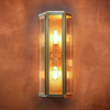 Oak Wall Light Brass