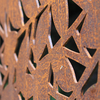 Branches in Corten Steel detail