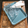 Cressida Bell for Burford Trays Blue Spot