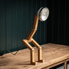 Mr Wattson LED Table Lamp Vintage White detail