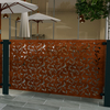 Branches in Corten Steel Low