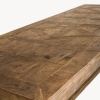 Woodcroft Salvaged Trestle Dining Table top