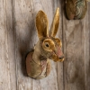 Handmade Fabric Hare Head