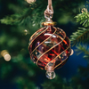 Mistral Glass Baubles Red