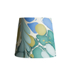 Pooky Tall Tapered Marbled Shade - Green/Blue Roya - 20cm