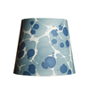 Pooky Tall Tapered Marbled Shade - Blue Sesia - 35cm