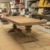 Woodcroft Salvaged Trestle Dining Table 250cm