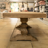 Woodcroft Salvaged Trestle Dining Table 2.5m