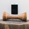 Mango Wood Speaker Giraffe Natural Medium