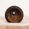 Mango Wood Speaker Note Dark Brown Medium