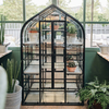 Large Indoor Black Greenhouse