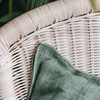 Stone Washed Linen Cushions Ivy