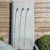 Trento Tall Zinc Water Feature