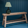 VIntage Dining Bench (lamp not included)