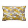 Harlequin Cushion, Sun Yellow