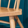 Devon Contemporary Armchair in Ash and Elm (detail of seat)