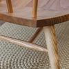 Devon Contemporary Bench (detail of seat and H-bar)