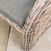 Octavia Croco Armchair (detail of seat)