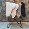 Gry Patchwork Shorthaired Sheepskin Rugs