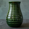 Emerald Glazed Honey Vase