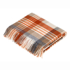 Melbourne Lambswool Throw Saffron