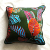 Eleni Malami Chloris Cushion Forest Square