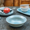 Stoneware Cereal Bowl, Light Blue
