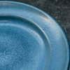 Stoneware Salad Plate, Dark Blue (detail)