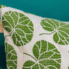Hazelwort Cushion, detail
