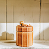 Acorn Swedish Earthenware Jar Hazel